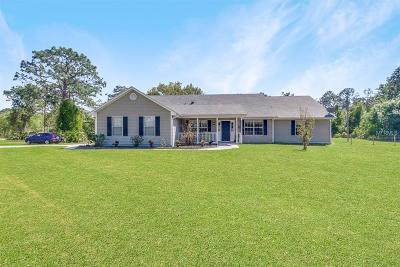 Saint Cloud Single Family Home For Sale: 4680 Quail Roost Road