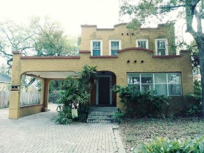 Orlando Single Family Home For Sale: 1636 Hillcrest Street