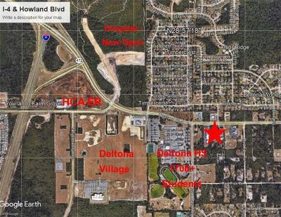 Lake County, Seminole County, Volusia County Residential Lots & Land For Sale: 3141 Howland Boulevard
