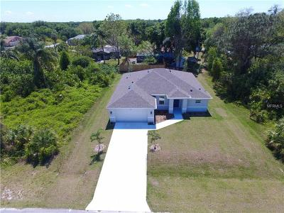 North Port Single Family Home For Sale: 8663 Lancelot Ave