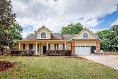 Eustis Single Family Home For Sale: 200 Temple Circle