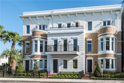 Winter Park Townhouse For Sale: 421 W Morse Boulevard