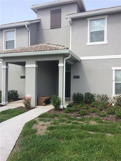 Kissimmee Townhouse For Sale: 3083 Juliet Drive