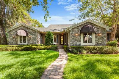 Winter Park Single Family Home For Sale: 1365 Grove Terrace