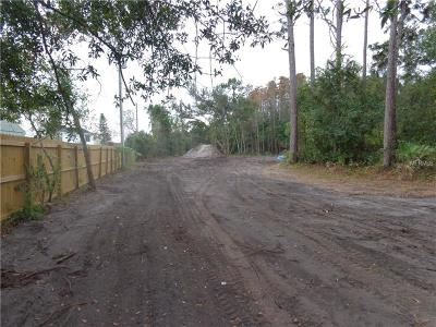Orlando Residential Lots & Land For Sale: 4320 S Chickasaw Trail