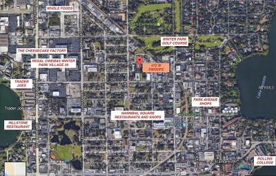 Winter Park Residential Lots & Land For Sale: 472 W Swoope Avenue
