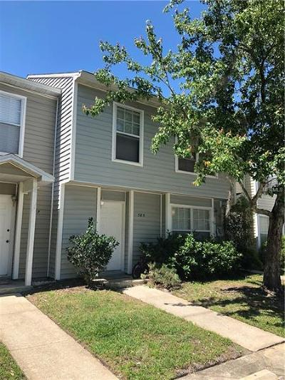 Winter Springs FL Townhouse For Sale: $142,000
