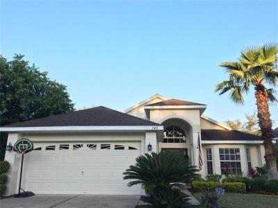 Winter Springs Single Family Home For Sale: 749 Seneca Meadows Road