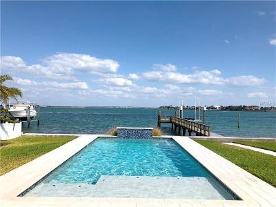 Saint Pete Beach, St Pete Beach Single Family Home For Sale: 2511 E Vina Del Mar Boulevard