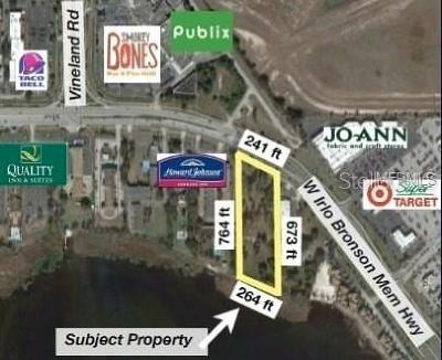 Kissimmee Residential Lots & Land For Sale: 4830 W Irlo Bronson Memorial Highway
