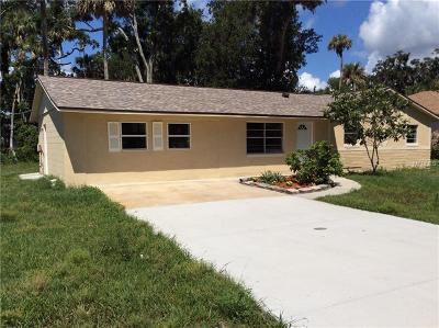 Edgewater Single Family Home For Sale: 2908 Kumquat Drive