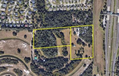 Ocoee Residential Lots & Land For Sale: 1850 & 1802 Cauley Road