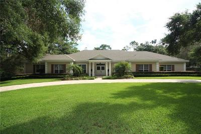 Longwood Single Family Home For Sale: 604 E Club Circle