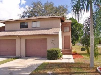 Tampa Townhouse For Sale: 12401 Joel Court