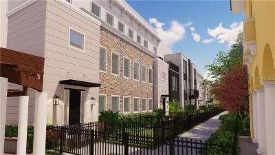 Winter Park Townhouse For Sale: 652 W Morse Boulevard #2-2
