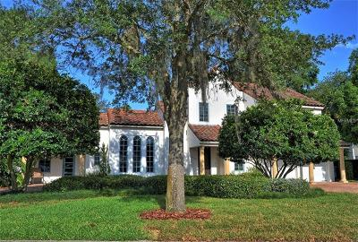 Winter Park Single Family Home For Sale: 1760 Via Contessa