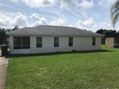 Lake Alfred Single Family Home For Sale: 901 Experiment Station Road