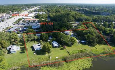 Casselberry Residential Lots & Land For Sale: 861 Lake Irene Drive