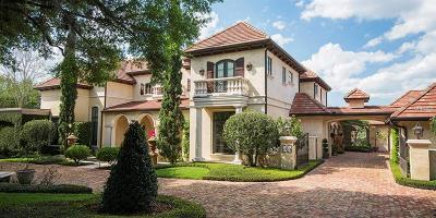 Windermere Single Family Home For Sale: 5354 Isleworth Country Club Drive