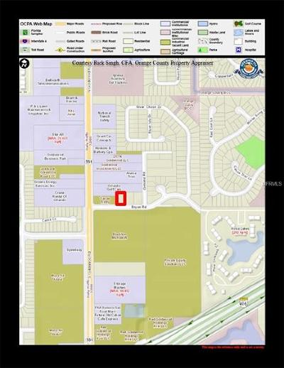 Orlando Residential Lots & Land For Sale: 7447 Bryan Road