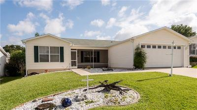 The Villages Single Family Home For Sale: 9521 SE 168th Elderberry Place