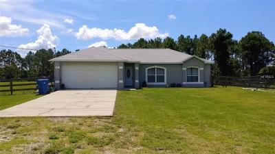 Osteen Single Family Home For Sale: 611 Willow Pond Lane