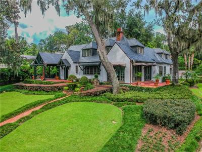 Winter Park Single Family Home For Sale: 2170 W Fawsett Road