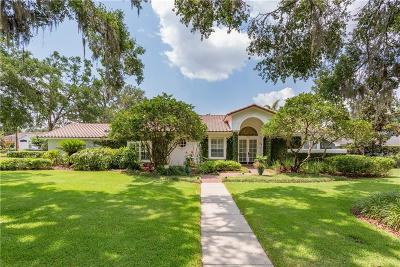 Winter Park Single Family Home For Sale: 1460 Mayfield Avenue
