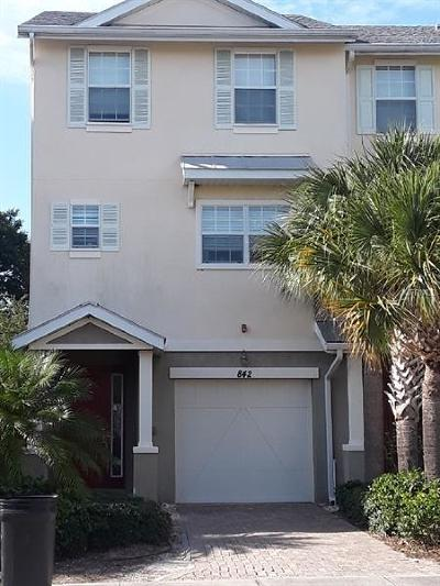 Hernando County, Hillsborough County, Pasco County, Pinellas County Townhouse For Sale: 842 Callista Cay Loop