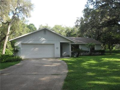 Orlando Single Family Home For Sale: 6360 Gilliam Road