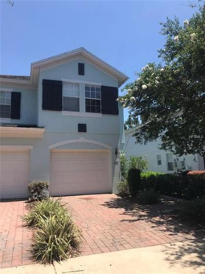 Orlando Townhouse For Sale: 3135 Capri Isle Way