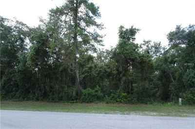 Volusia County Residential Lots & Land For Sale: 2433 Tracy Lane