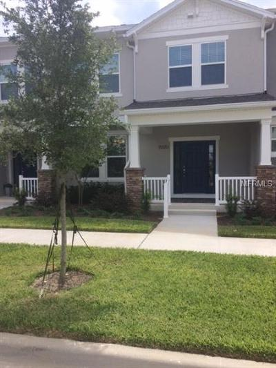 Winter Garden Townhouse For Sale: 15551 Blackbead Street