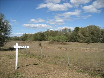 Apopka Residential Lots & Land For Sale: 3059 Carmona Road