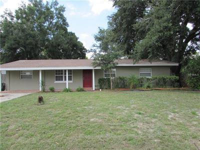 Orlando Single Family Home For Sale: 1705 Mosher Drive