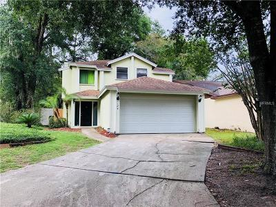 Apopka Single Family Home For Sale: 1124 Mill Run Circle