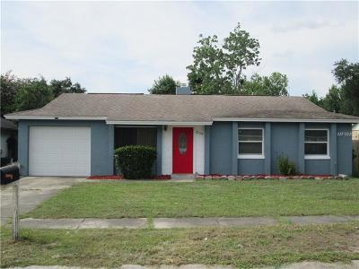 Orlando Single Family Home For Sale: 3729 Shady Grove Circle