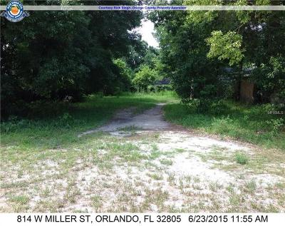 Orange County, Osceola County Residential Lots & Land For Sale: 814 W Miller Street