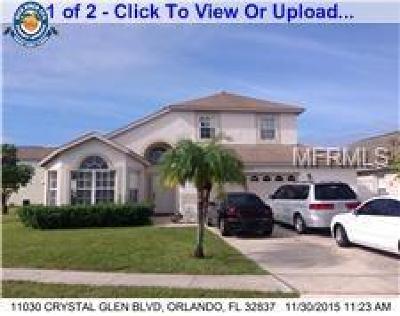 Orlando Single Family Home For Sale: 11030 Crystal Glen Boulevard