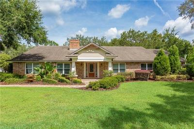 Winter Springs Single Family Home For Sale: 1154 Howell Creek Drive