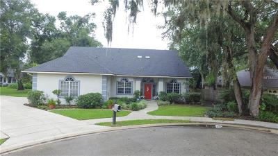 Altamonte Springs Single Family Home For Sale: 160 Academy Oaks Place