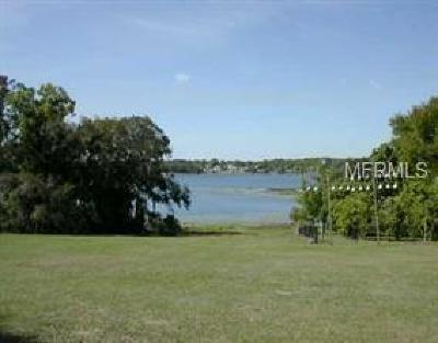 Eustis Residential Lots & Land For Sale: Villa Way
