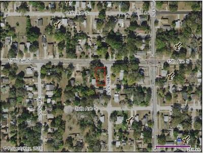 St Petersburg Residential Lots & Land For Sale: 1501 38th Street S