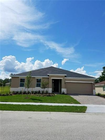 Eustis Single Family Home For Sale: 3333 Cypress Grove Drive