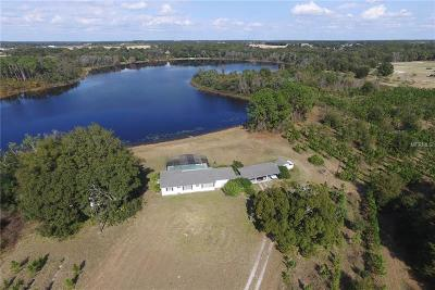 Umatilla Single Family Home For Sale: 18625 County Road 450a