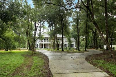 Deland Single Family Home For Sale: 489 Mercers Fernery Road
