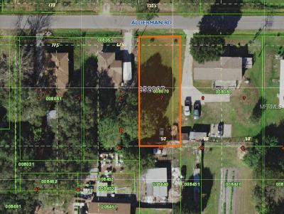 Auburndale Residential Lots & Land For Sale: 0 Alderman Road