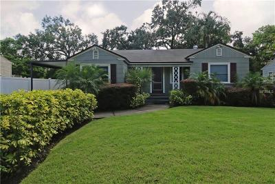 Orlando Single Family Home For Sale: 909 Floral Drive