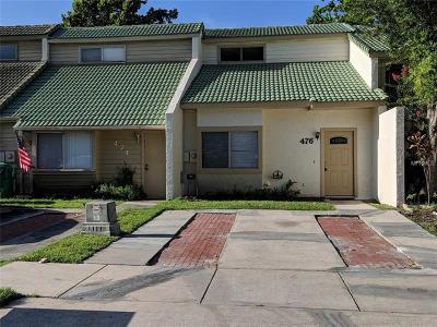 Winter Garden Townhouse For Sale: 476 Sand Lime Road