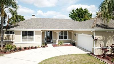 Orlando Single Family Home For Sale: 705 Padgett Court
